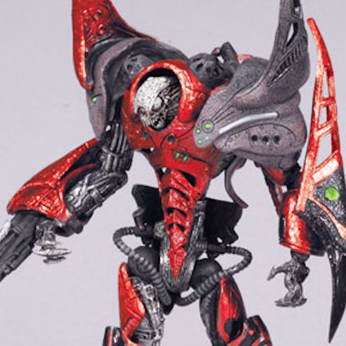 MCFARLANE SPAWN CYBER UNITS RED UNIT 001 VIRAL ACTION FI