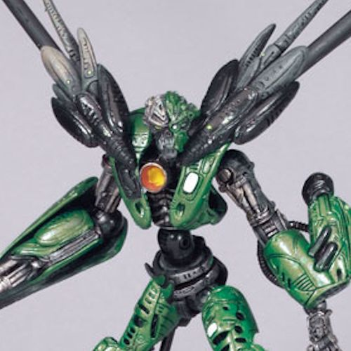 MCFARLANE SPAWN CYBER UNITS GREEN UNIT 001 INFILTRATOR ACTION FI