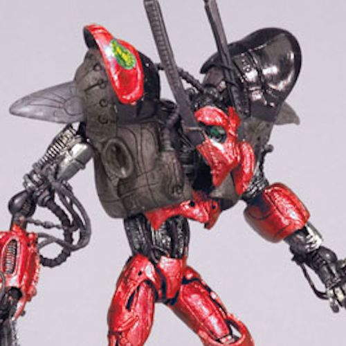 MCFARLANE SPAWN CYBER UNITS RED UNIT 001 GUARDIAN ACTION FI