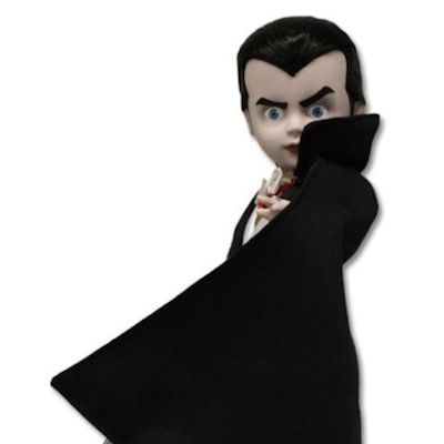 MEZCO LIVING DEAD DOLLS PRESENTS DRACULA DOLL ACTION FIGURE