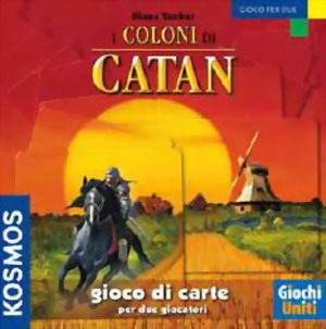 I COLONI DI CATAN GIOCO DI CARTE