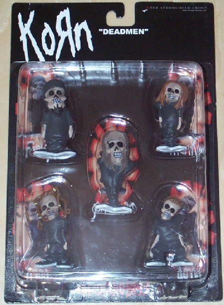 KORN STRONGHOLD MINI ACTION FIGURE SET DI 5 - 8CM