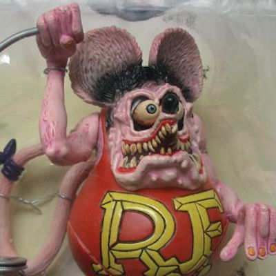 SIDESHOW RAT FINK BIG DADDY ROTH ED ACTION FIGURE