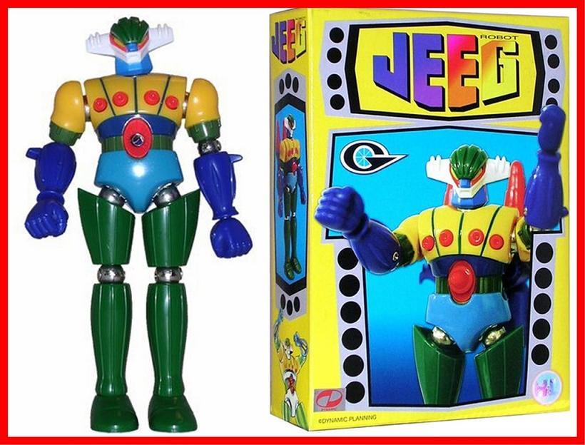 Latitudine comics and games robot giapponesi jeeg