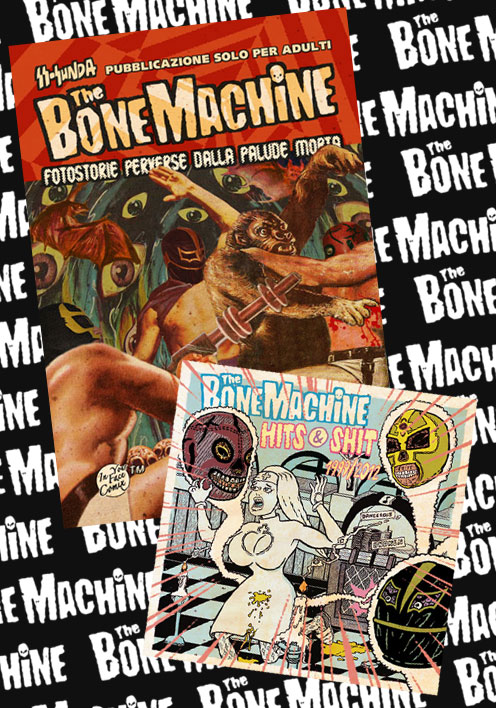 The Bone Machine Fotostorie + CD Hits & Shit di SS-Sunda