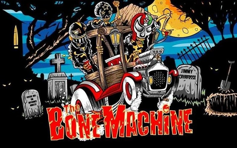 The Bone Machine Stikers Kustom Band