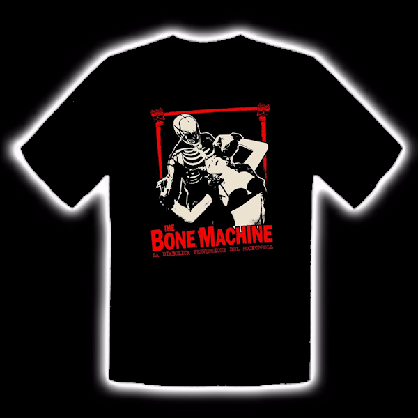 The Bone Machine T-Shirt Kriminal Taglia Lady M